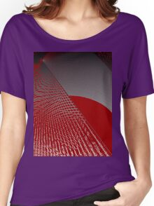 Roaming Red Women's Relaxed Fit T-Shirt