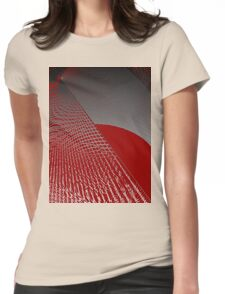 Roaming Red Womens Fitted T-Shirt