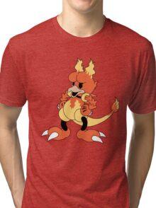Blaine's Fire Duck #126 Tri-blend T-Shirt
