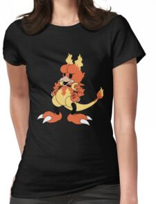 Blaine's Fire Duck #126 Womens Fitted T-Shirt