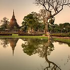 Reflections of Sukhothai by Brian Winshell