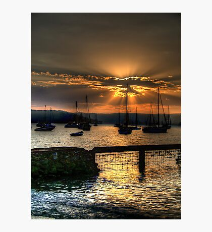 Glory - Paradise Beach, Sydney - The HDR EXperience Photographic Print