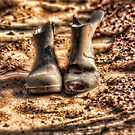 OLD BOOTS by RGHunt