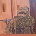 British Soldier in Afganistan by sueangel