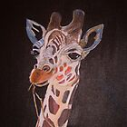 Rodney the baby Giraffe by sueangel
