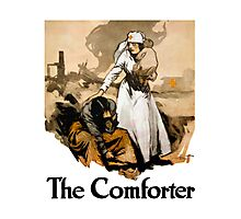 The Comforter -- Red Cross Nurse Photographic Print