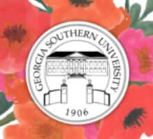 Georgia Southern Emblem Sticker
