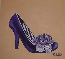 The Purple Shoe by sueangel