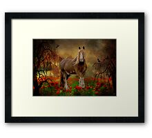 Big Max And The Tree Frog Framed Print