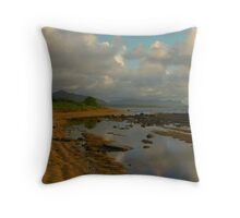 Tidal Pool Reflections Throw Pillow
