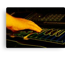 The Right Note Canvas Print