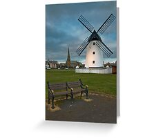 Windmill at Lytham St. Annes Greeting Card