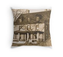 Officers Row, Sandy Hook Throw Pillow
