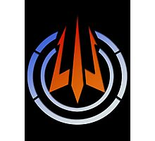 Black Ops III: Trident Logo Photographic Print