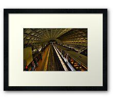 Washington D.C. Metro Framed Print
