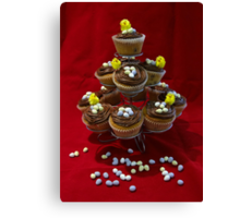 Chocolate Chip Cupcakes Canvas Print