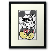 Mickey Mouse ~ Dismaland Framed Print