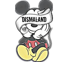 Mickey Mouse ~ Dismaland Photographic Print
