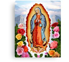 Our Lady Of Die Antwoord Canvas Print