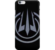 Black Ops III: Trident Logo (Brushed Steel) iPhone Case/Skin