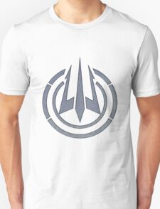 Black Ops III: Trident Logo (Brushed Steel) Unisex T-Shirt