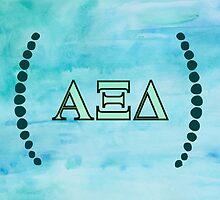 Alpha Xi Delta Letters by Sara Ellen Thomas