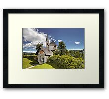 Maria Worth - Church Framed Print