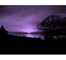 Magical Evening Photographic Print