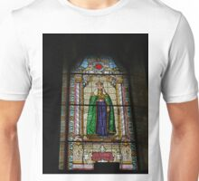 Stained glass Window, The Orthodox Cathedral of St George, Novi Sad, Serbia Unisex T-Shirt