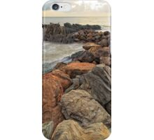 Textures and Sunrise_Yorkeys Knob_Colour Version iPhone Case/Skin
