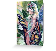 My Monarch and Me Greeting Card