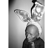 Hugo as Easter Bunny Photographic Print
