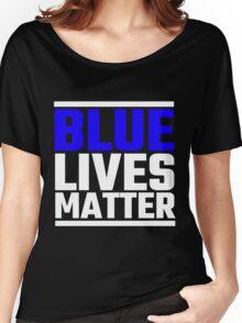 Blue Lives Matter Women's Relaxed Fit T-Shirt