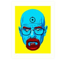 BREAKING BAD-WALTER WHITE-DR MANHATTAN Art Print