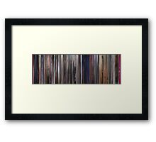 Moviebarcode: A Clockwork Orange (1971) Framed Print