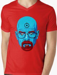BREAKING BAD-WALTER WHITE-DR MANHATTAN Mens V-Neck T-Shirt