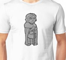John Snow B/W Unisex T-Shirt