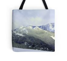 """Snowy Olympics"" Tote Bag"