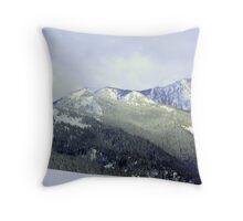"""Snowy Olympics"" Throw Pillow"