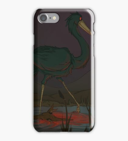Pacing in Red iPhone Case/Skin
