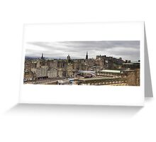 View from Calton Hill Greeting Card