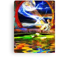 Earth-Fall Canvas Print