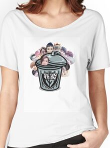 Seventeen Trash (Jeonghan) Women's Relaxed Fit T-Shirt
