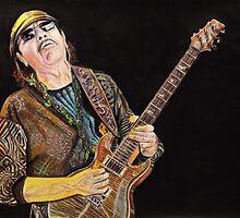 Carlos Santana by chris benice