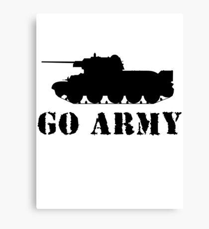 Go Army Canvas Print