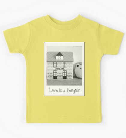 'Love is a Penguin' second sister Kids Tee
