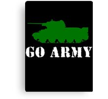 Go Army Canvas Print