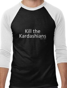 Kill the Kardashians Men's Baseball ¾ T-Shirt
