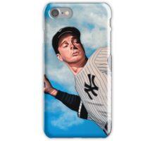 Joe DiMaggio painting iPhone Case/Skin