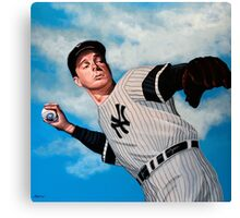 Joe DiMaggio painting Canvas Print